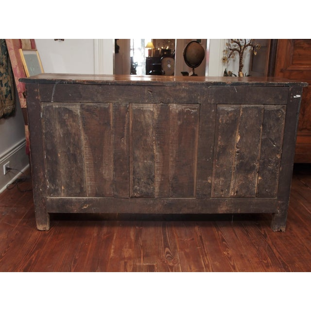 Wood Louis XIV Fruitwood Buffet For Sale - Image 7 of 11