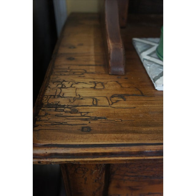 18th Century Antique French Walnut Hutch - Image 5 of 5