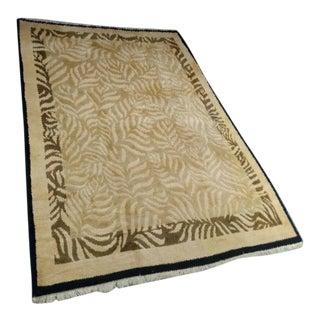 Late 20th Century Odegard Carpets Handmade Wool Rug - 9′ × 12′ For Sale