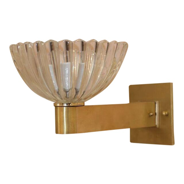 Murano Sconces - a Pair For Sale In Houston - Image 6 of 6