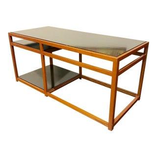 1950s Danish Modern Edward Wormley for Dunbar Console Table For Sale