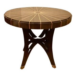 Pearson Co. Deco Style Side Table For Sale