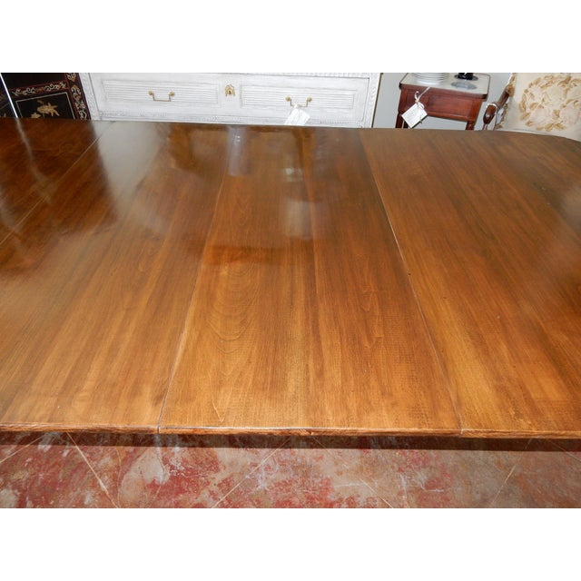 French Louis XVI Directoire' Extension Dining Table For Sale - Image 3 of 9