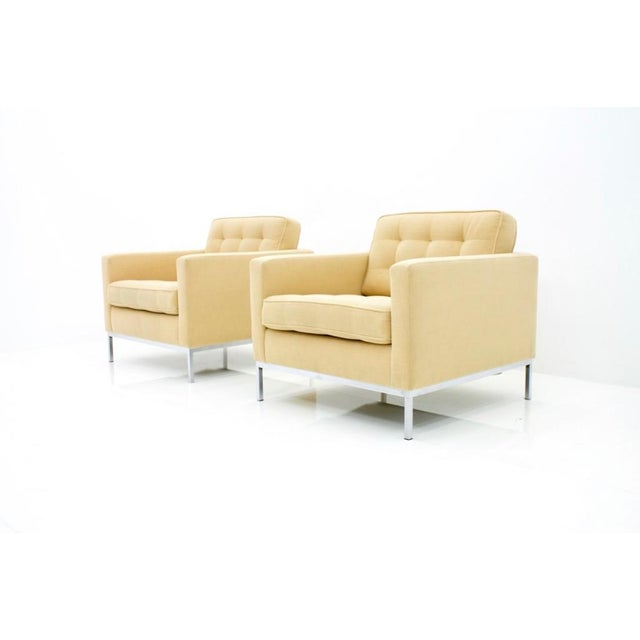 Florence Knoll Lounge Chairs for Knoll International For Sale - Image 10 of 10