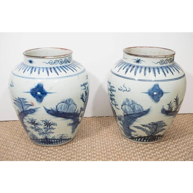 A Large Chinese Export Vase For Sale - Image 4 of 10