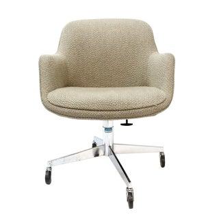 Steelcase Mid-Century Swivel Barrel Chair