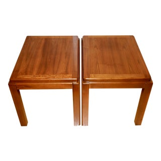 1970s Mid-Century Modern Lane Side Tables - a Pair For Sale
