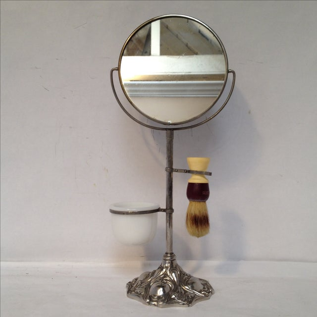 Early 20th Century Antique Shaving Stand For Sale - Image 5 of 11