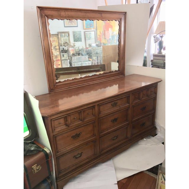 Traditional Mirrored Chest of Drawers For Sale - Image 3 of 11