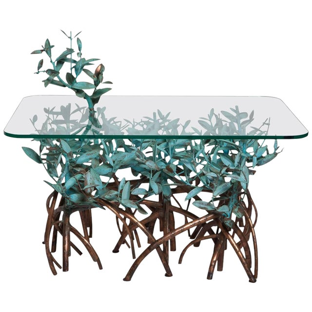 Copper Mangrove Coffee Table by Garland Faulkner For Sale