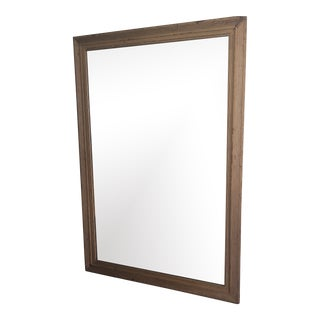 Antique Southern Estate Floor Mirror For Sale