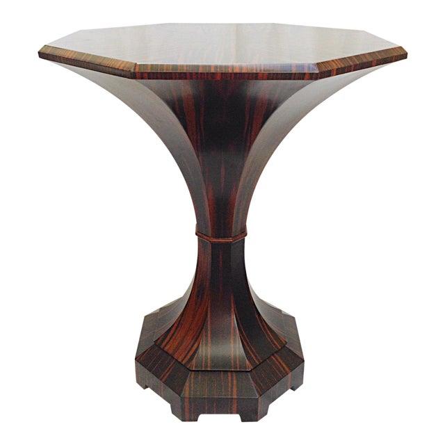 Lucien Rollin Macassar Ebony Tulip Table For Sale