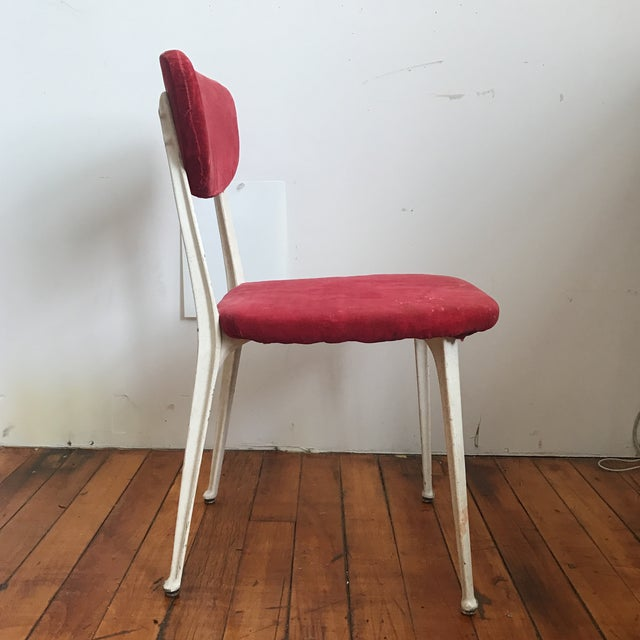 1940s Red Earnest Race Chair For Sale - Image 5 of 8