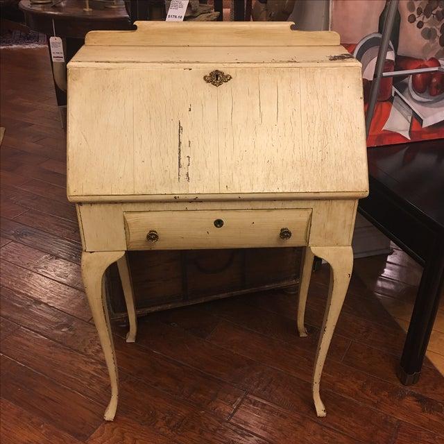 Vintage Shabby Chic Secretary Desk - Image 2 of 11