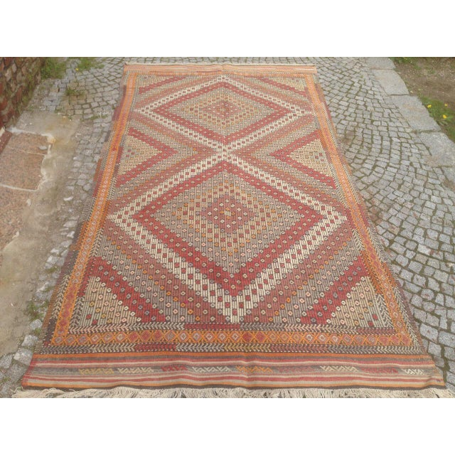 Turkish Anatolian Rug - 4′11″ × 9′3″ For Sale - Image 5 of 6