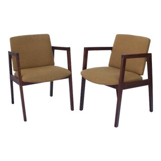 Mid-Century Modern Chairs Arm Chairs - a Pair