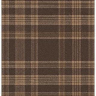 Ralph Lauren Deerpath Trail Plaid CL Russet Fabric For Sale