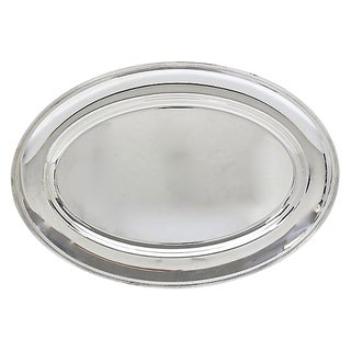 French Christofle Silver-Plate Tray For Sale
