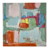 Image of Abstract Original Oil Painting For Sale