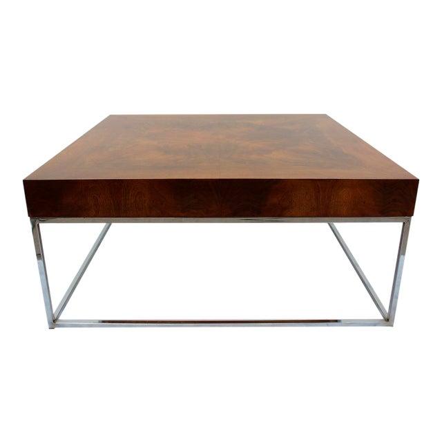 Mid Century Modern Milo Baughman coffee table - Image 1 of 7