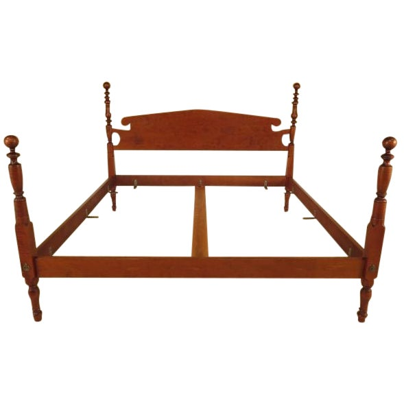 Eldred Wheeler King Cannonball Bed - Image 1 of 11