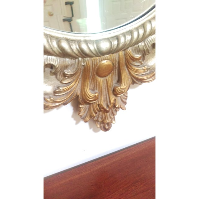 Antique Gilded Wall Mirror - Image 5 of 5