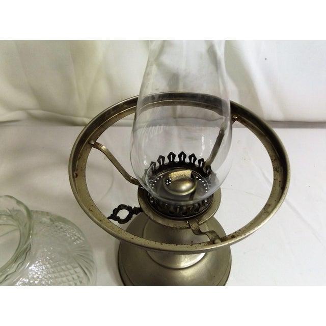 Vintage Kaadan Ltd. Wheatland Oil Lamp For Sale - Image 6 of 7