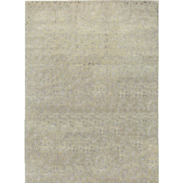Contemporary Hand Woven Rug - 8'5 X 11'6 For Sale