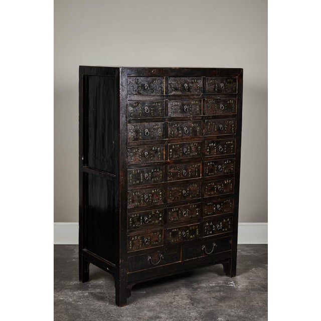 19th Century Chinese Apothecary Cabinet With Drawers For Sale - Image 9 of 9