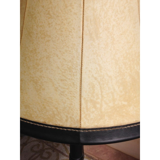 Hermes Leather Table Lamp - Image 6 of 6