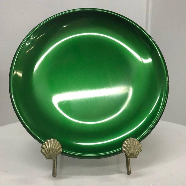 Italian Set of Italian Decorative Plates by Afra E Tobia Scarpa San Lorenzo Design For Sale - Image 3 of 10