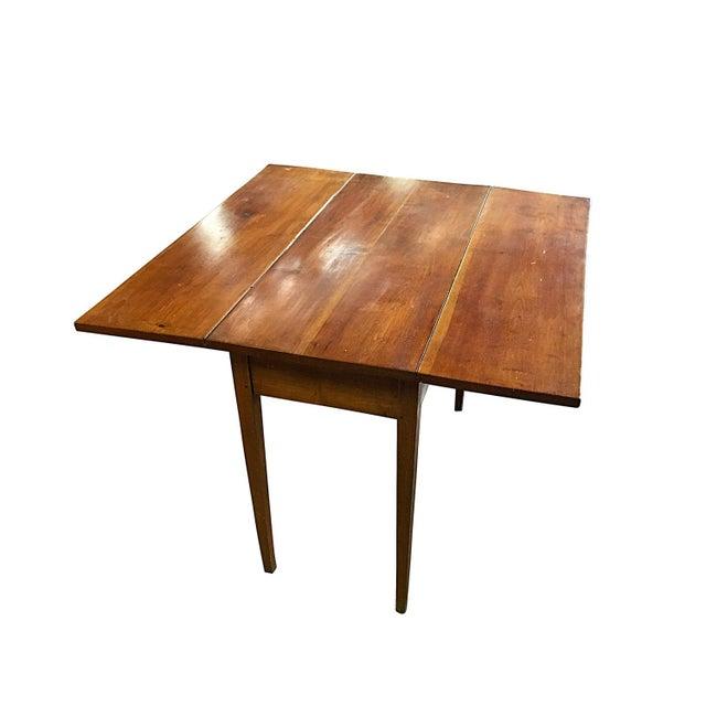 Vintage Modern Farmhouse Drop-Leaf Table - Image 4 of 5