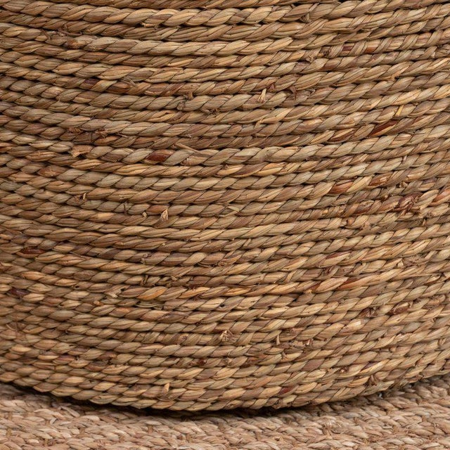 Early 21st Century Small Rattan Wrapped Side Table For Sale - Image 5 of 6