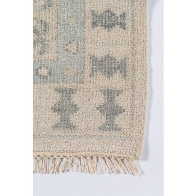 """Traditional Erin Gates Concord Sudbury Ivory Hand Knotted Wool Area Rug 5'6"""" X 8'6"""" For Sale - Image 3 of 7"""