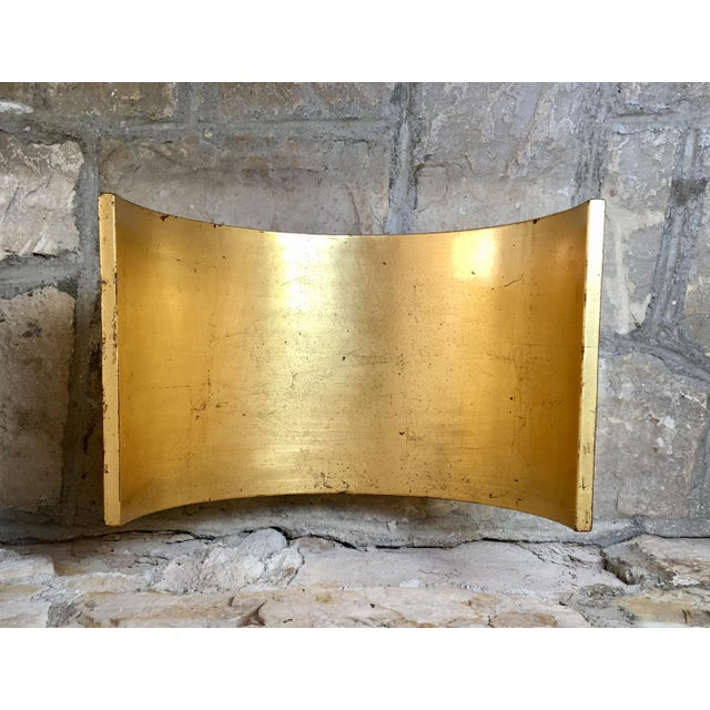 1960s Italian Mid Century Gold Wood Book Holder For Sale - Image 5 of 7