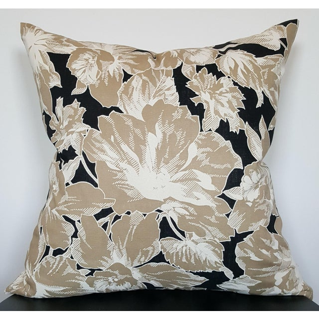 Vintage Floral Throw Pillows - A Pair - Image 3 of 6