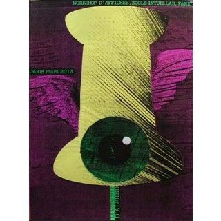 2013 Original Workshop d'Affiches Poster - Alfred Halasa For Sale