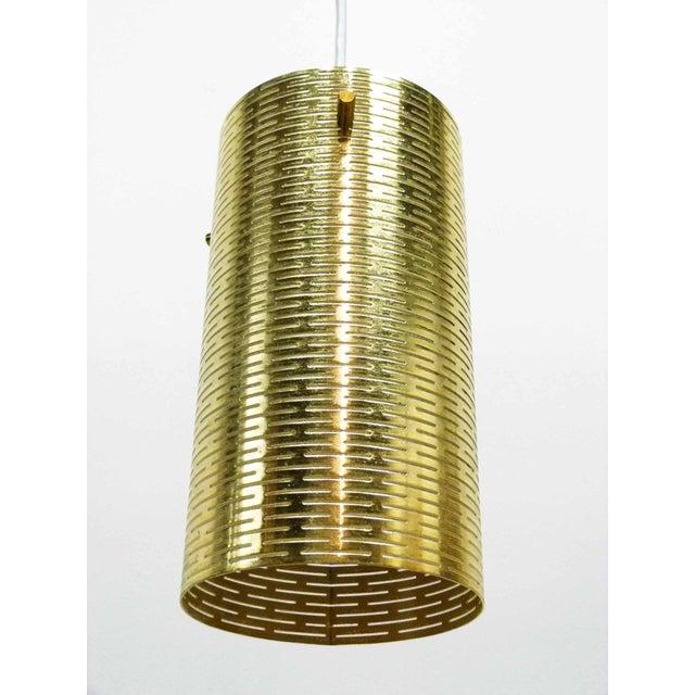 Pierced Pendant Lights by Lightolier - Set of 3 - Image 3 of 10