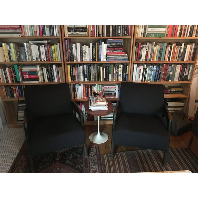Mid-Century Cashmere Lounge Chairs - A Pair - Image 2 of 5