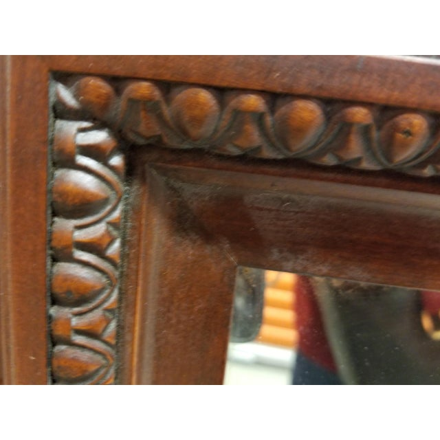 """Hollywood Regency Kent Coffey """"The Darlington"""" Dresser and Mirror For Sale - Image 3 of 11"""