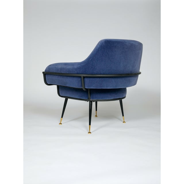 Contemporary The Roberto Club Chair by Studio Van Den Akker For Sale - Image 3 of 4