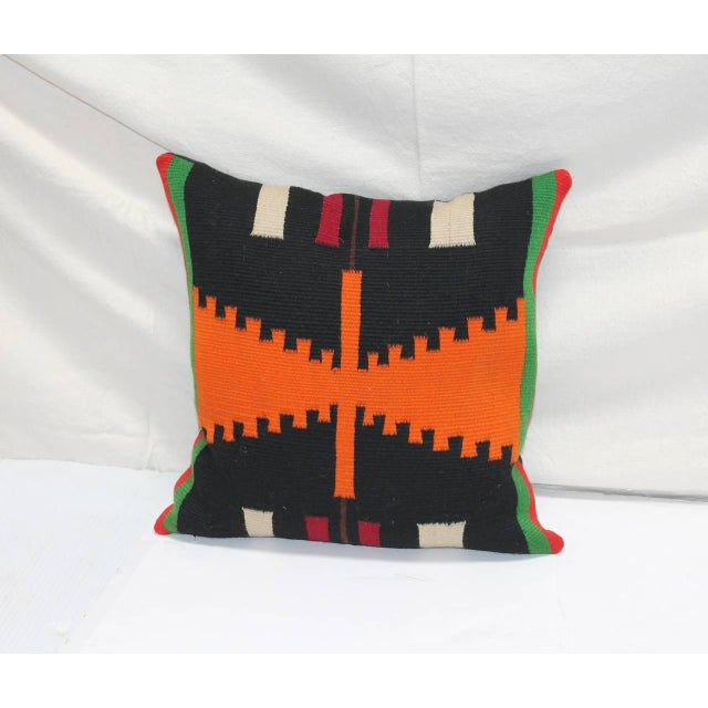 Group of Three Rare Germantown Indian Weaving Pillows - Image 7 of 7