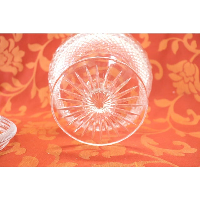 Crystal 20th Century Crystal Centrepiece, 1980s For Sale - Image 7 of 9