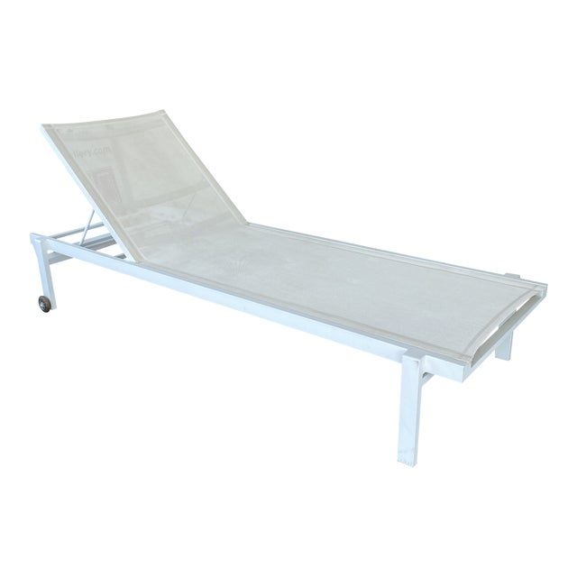 Mamagreen Allux White Outdoor Lounger For Sale