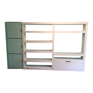 Contemporary Roche Bobois Modern Large Wall Unit For Sale