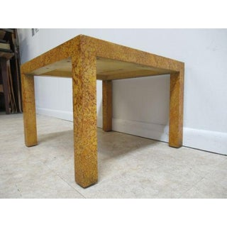 Henredon Decorator Faux Painted Coffee Table Preview