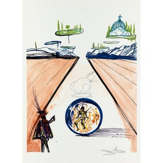 Salvador Dalí­ Intra-Uterine Paradesic Locomotion (Imagination & Objects of the Future Port.) 1975 For Sale