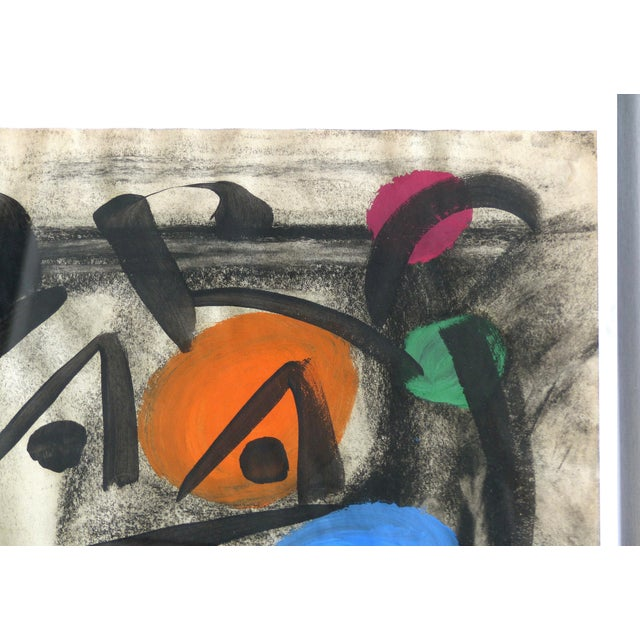 1960s 1960s Abstract Mixed Media Painting by Peter Robert Keil For Sale - Image 5 of 9