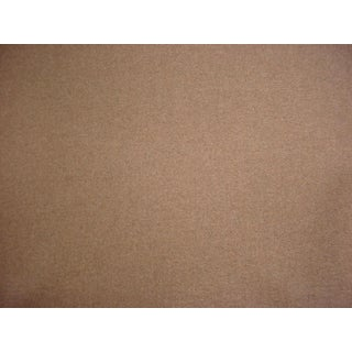Kravet Couture Mink Brown Heavy Wool Felt Upholstery Fabric - 16-1/2 Yard For Sale