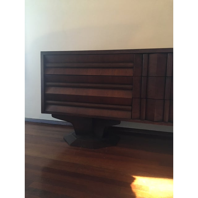 I purchased this incredibly unique modern dresser from an artist in Red Hook, New York, and brought it with me to Los...
